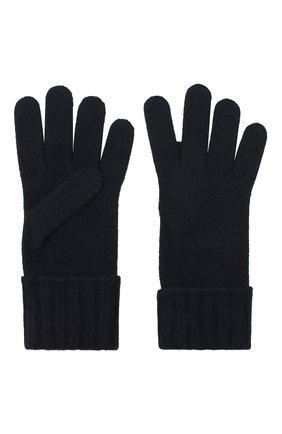 Женские перчатки из смеси шерсти и вискозы INVERNI темно-синего цвета, арт. 4774GU | Фото 2