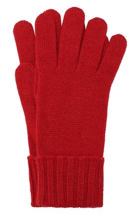 Женские перчатки из смеси шерсти и вискозы INVERNI красного цвета, арт. 4774GU | Фото 1