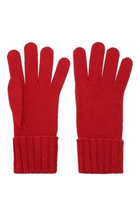 Женские перчатки из смеси шерсти и вискозы INVERNI красного цвета, арт. 4774GU | Фото 2