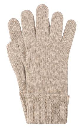 Женские перчатки из смеси шерсти и вискозы INVERNI бежевого цвета, арт. 4774GU | Фото 1