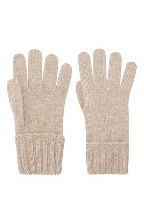 Женские перчатки из смеси шерсти и вискозы INVERNI бежевого цвета, арт. 4774GU | Фото 2