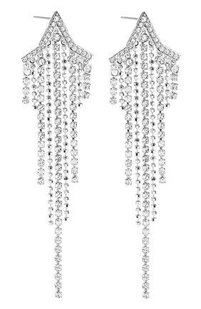 Женские серьги fit star SWAROVSKI серебряного цвета, арт. 5492758 | Фото 3