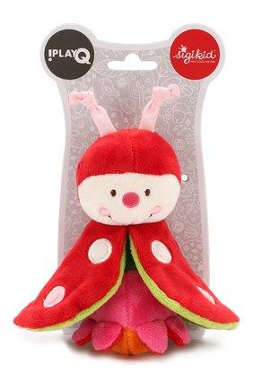 Детского развивающая игрушка жук SIGIKID красного цвета, арт. 40887 | Фото 1