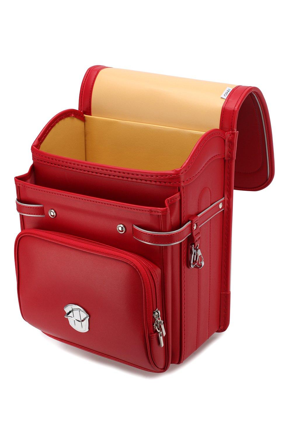 Детская ранец randoseru SEIBAN красного цвета, арт. HF20-2520 | Фото 3