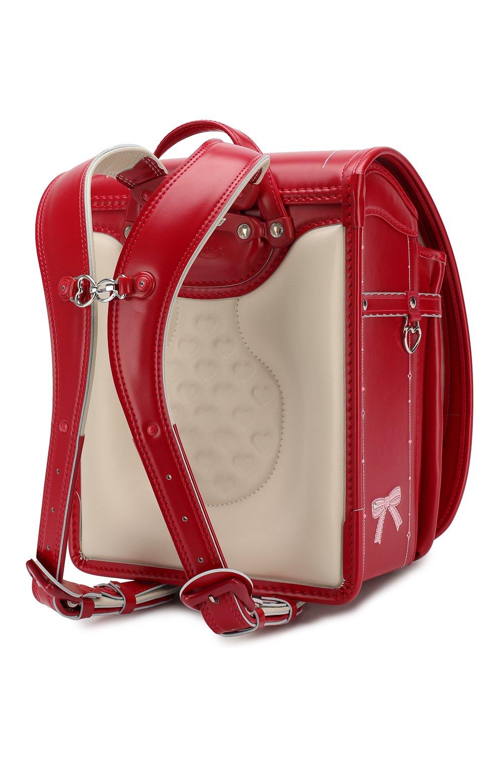 Детская ранец randoseru SEIBAN красного цвета, арт. LV16K2525   Фото 2