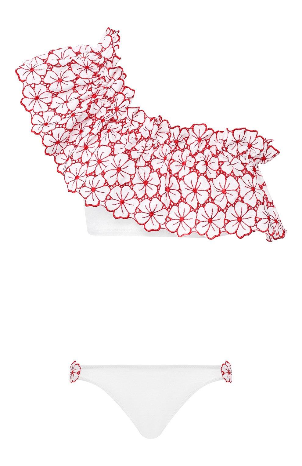 Женский раздельный купальник I.D. SARRIERI белого цвета, арт. BW65430   Фото 1