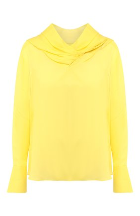 Женская блузка AKIRA NAKA желтого цвета, арт. AP1903-YE | Фото 1