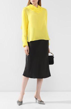 Женская блузка AKIRA NAKA желтого цвета, арт. AP1903-YE | Фото 2