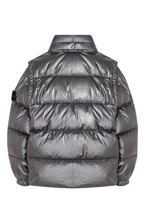 Пуховая куртка со съемными рукавами | Фото №2