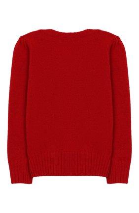 Детский пуловер из шерсти и кашемира POLO RALPH LAUREN красного цвета, арт. 311751019 | Фото 2