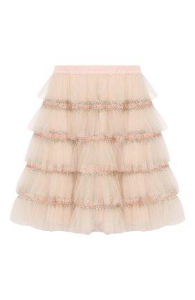 Детская юбка DESIGNERS CAT розового цвета, арт. 100000K01000373/10A-12A | Фото 1