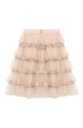 Детская юбка DESIGNERS CAT розового цвета, арт. 100000K01000373/10A-12A | Фото 2