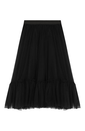 Детская многослойная юбка DESIGNERS CAT черного цвета, арт. 100000K01000324/4A-8A | Фото 1