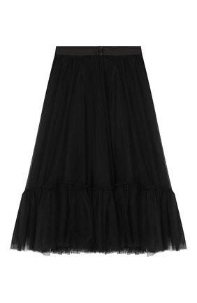 Детская многослойная юбка DESIGNERS CAT черного цвета, арт. 100000K01000324/10A-12A | Фото 2