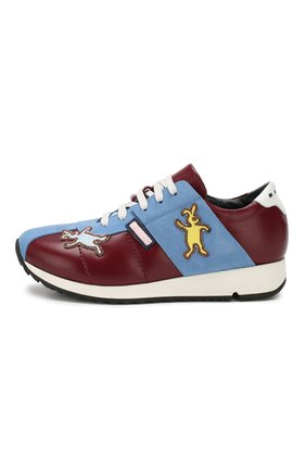 Кожаные кроссовки   Фото №2