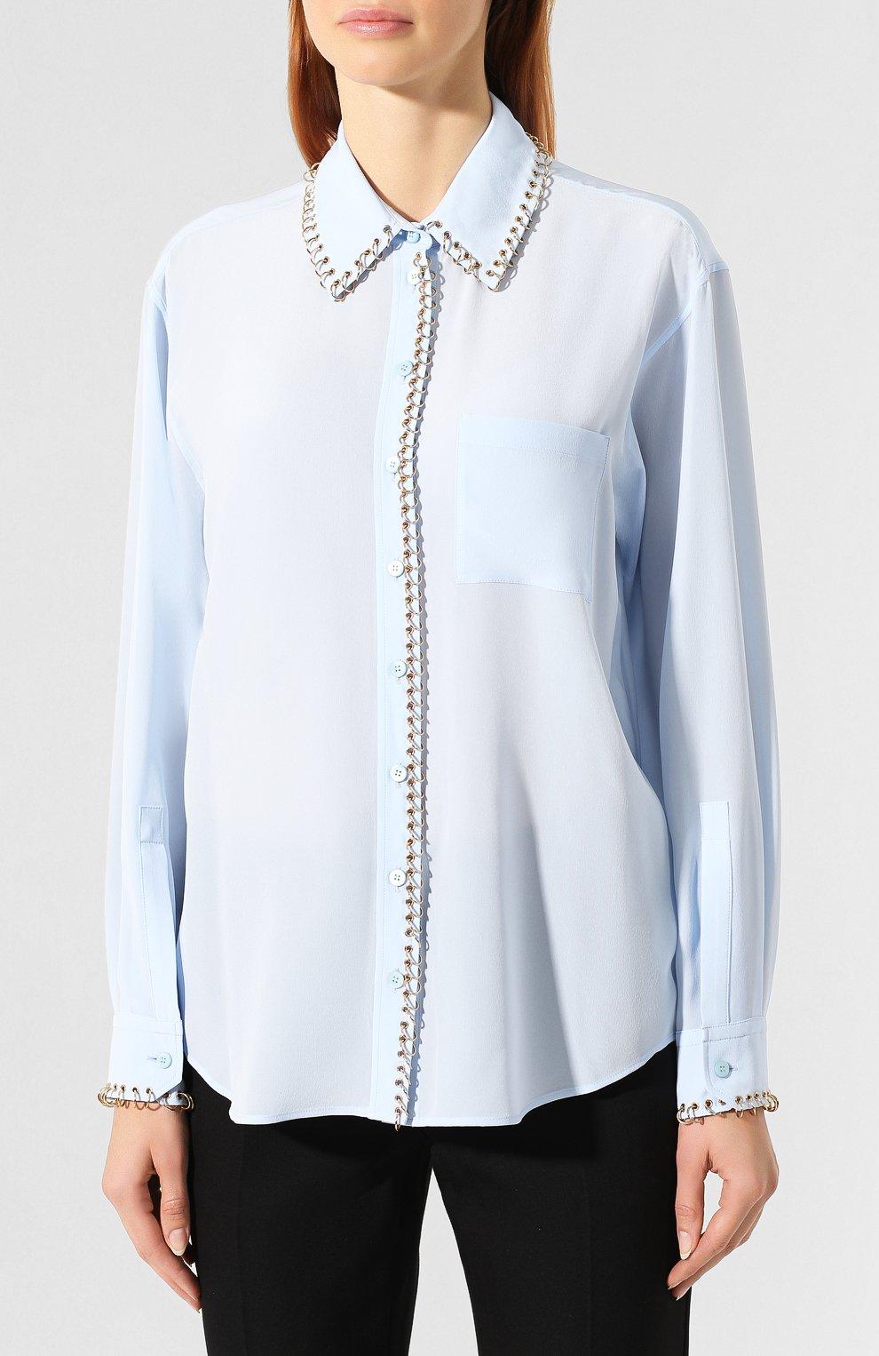 Шелковая рубашка | Фото №3