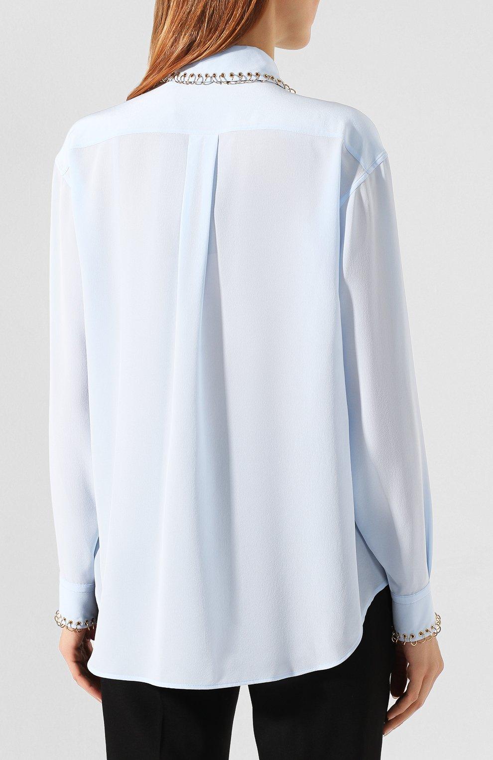 Шелковая рубашка | Фото №4