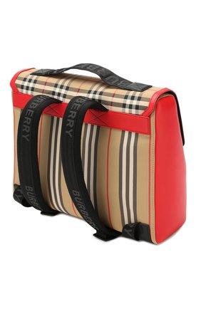 Детская портфель BURBERRY разноцветного цвета, арт. 8014353 | Фото 2