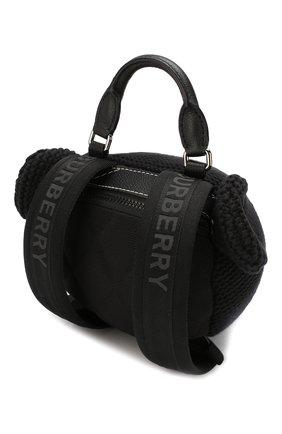 Детская рюкзак BURBERRY черного цвета, арт. 8014318 | Фото 2