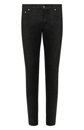 Мужские джинсы DOLCE & GABBANA темно-синего цвета, арт. GY07CZ/G8BC9 | Фото 1