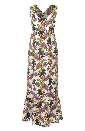 Женское хлопковое платье BORGO DE NOR разноцветного цвета, арт. MILA/THREE LINER | Фото 1