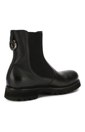 Мужские кожаные челси ROCCO P. черного цвета, арт. 9011/R0CK DEER   Фото 4