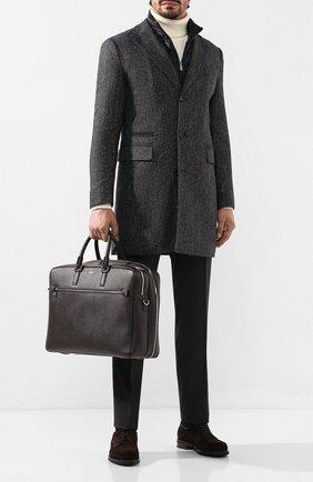 Кожаная дорожная сумка   Фото №2