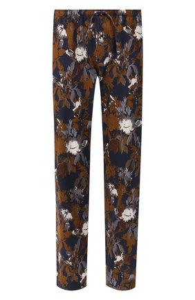 Мужские хлопковые домашние брюки ZIMMERLI темно-синего цвета, арт. 4739-75180 | Фото 1
