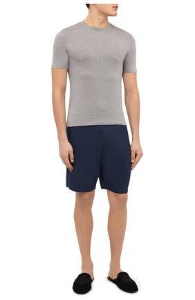 Мужская футболка ZIMMERLI серого цвета, арт. 718-8251 | Фото 2