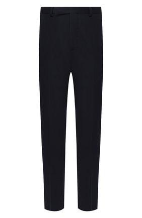 Мужской шерстяные брюки TRIPLE RRR черного цвета, арт. FW20 P012 3010 | Фото 1