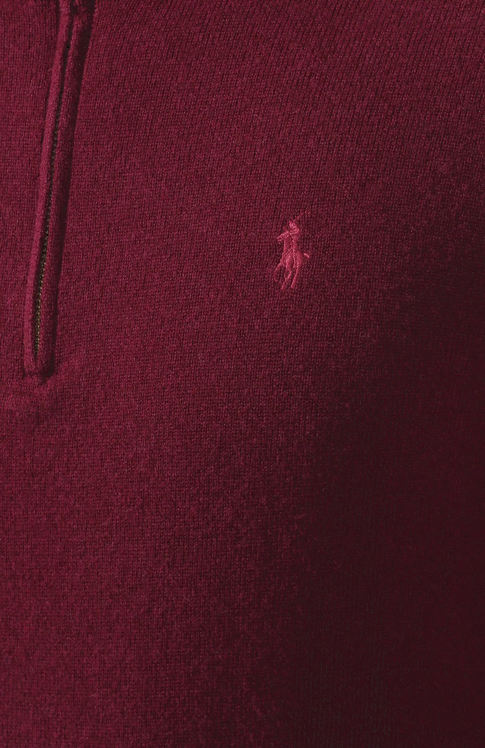 Мужской шерстяной джемпер POLO RALPH LAUREN бордового цвета, арт. 710723053 | Фото 5
