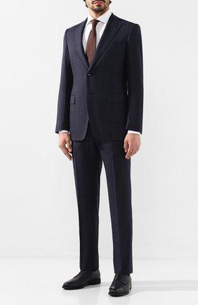 Мужской шерстяной костюм ZILLI темно-синего цвета, арт. MMS-QN22Y2-B6510/0002 | Фото 1