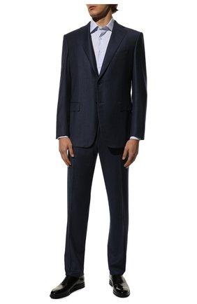 Мужской шерстяной костюм ZILLI синего цвета, арт. MMS-QN22Y2-B6547/0002 | Фото 1