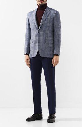 Мужской шерстяной пиджак CANALI голубого цвета, арт. 11280/CF02199/112   Фото 2