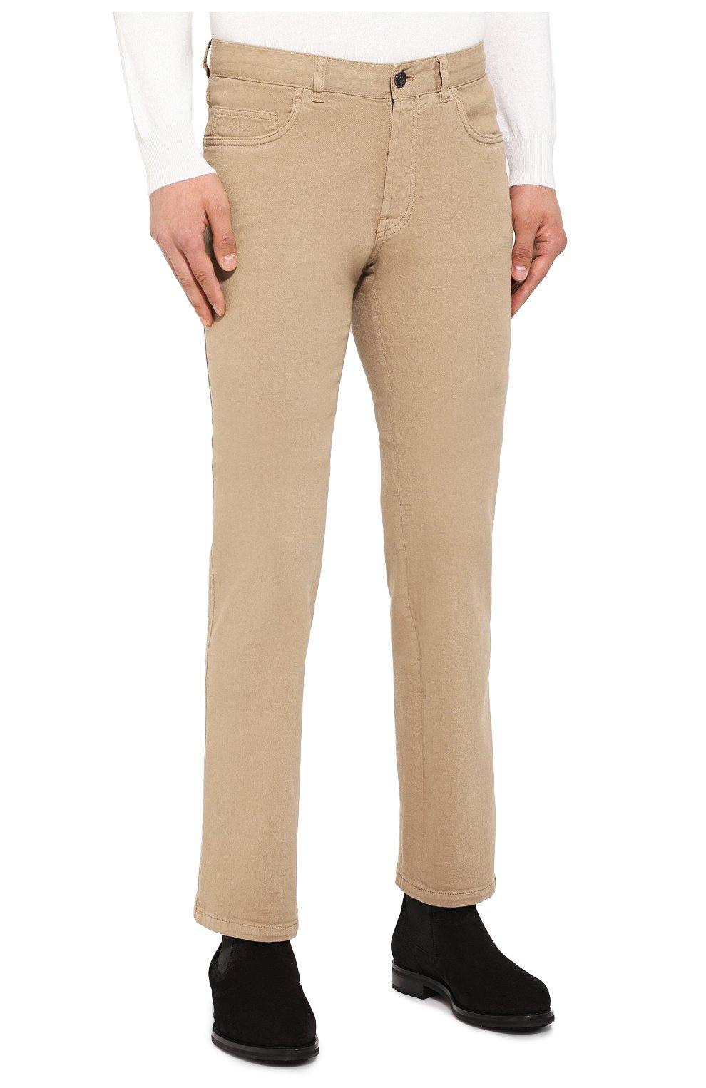 Мужские джинсы BRIONI бежевого цвета, арт. SPNJ0M/08T01/STELVI0 | Фото 3
