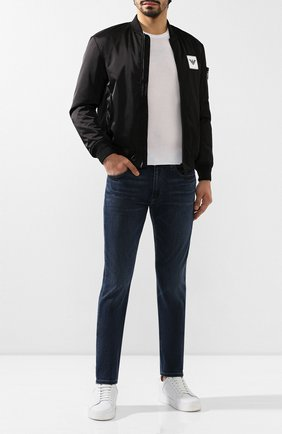 Мужские джинсы PAIGE синего цвета, арт. M653C72-7156 | Фото 2