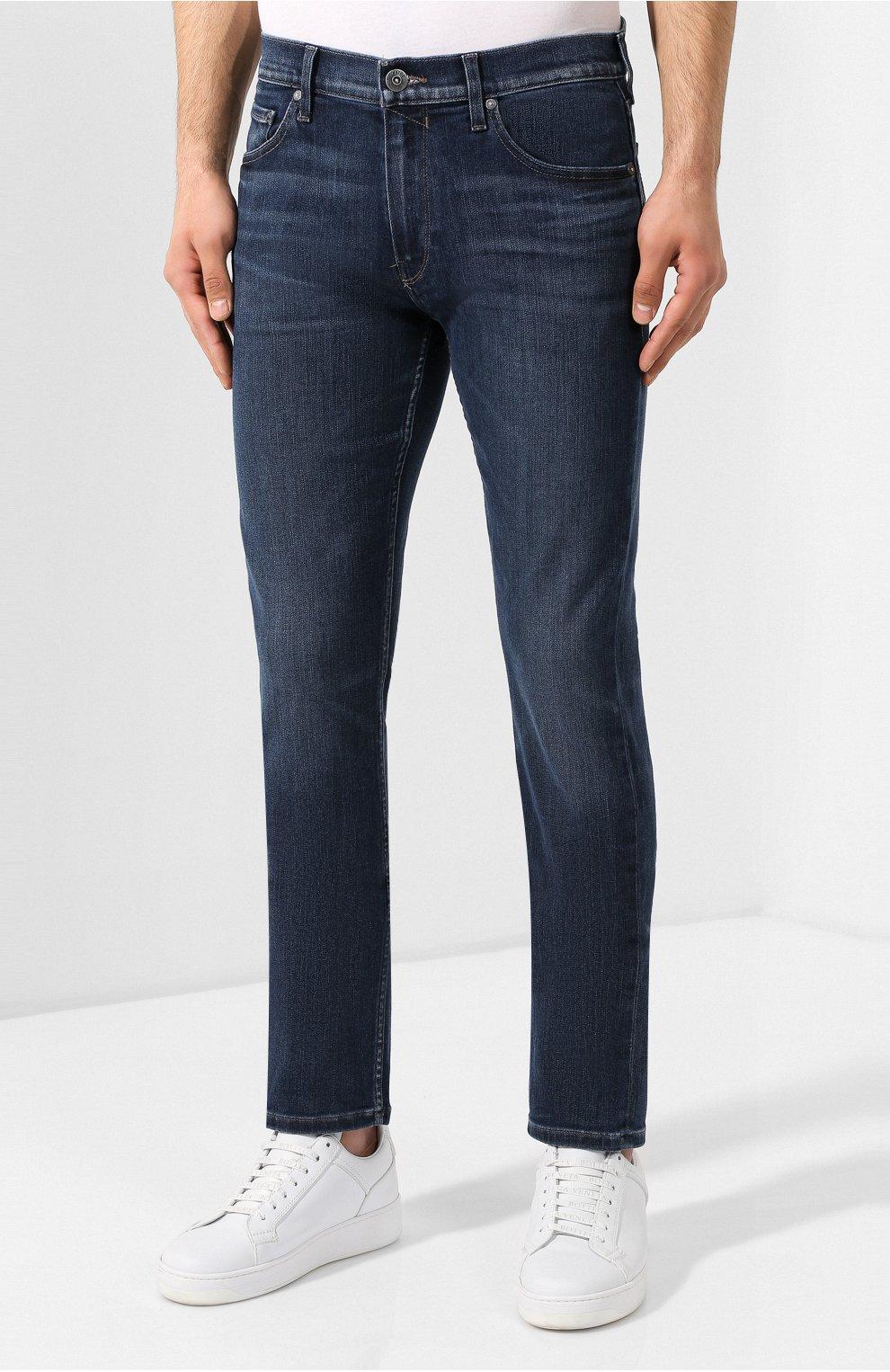 Мужские джинсы PAIGE синего цвета, арт. M653C72-7156 | Фото 3
