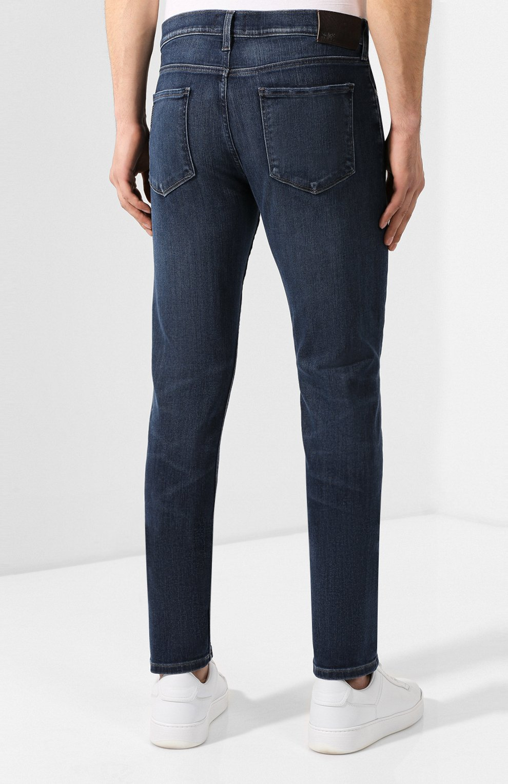 Мужские джинсы PAIGE синего цвета, арт. M653C72-7156 | Фото 4