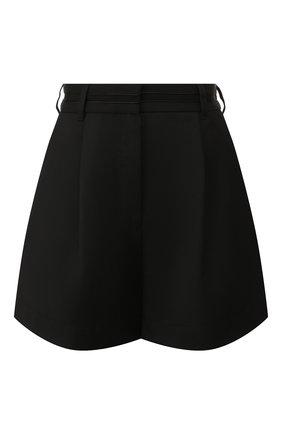 Женские шорты KENZO черного цвета, арт. F962SH0475AH   Фото 1 (Материал внешний: Синтетический материал, Шерсть; Длина Ж (юбки, платья, шорты): Мини; Стили: Кэжуэл; Женское Кросс-КТ: Шорты-одежда)