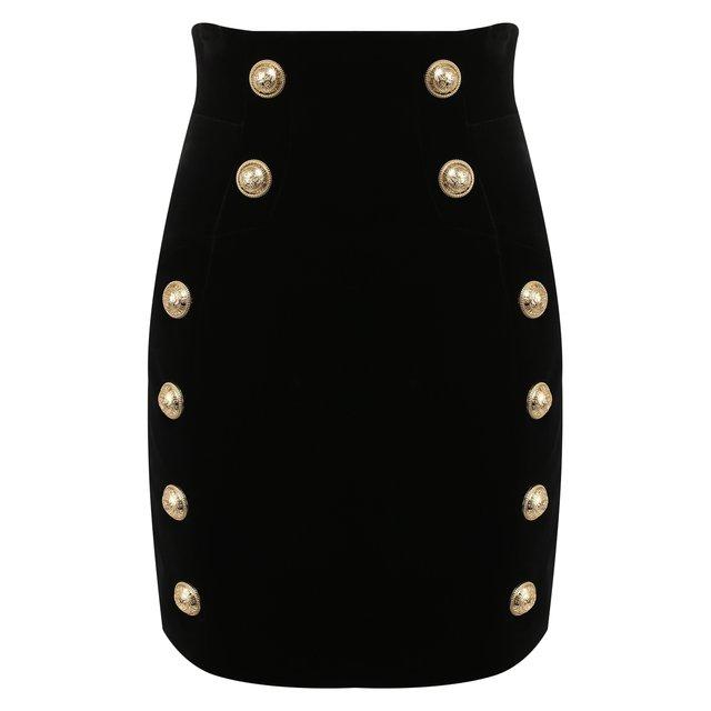 Хлопковая юбка Balmain