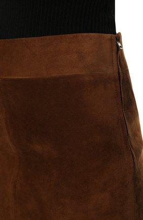 Замшевая юбка | Фото №5