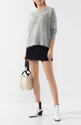 Женская пуловер ISABEL MARANT ETOILE серого цвета, арт. PU1113-19A064E/CLIFT0NY   Фото 2
