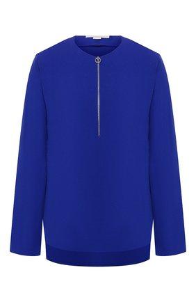 Женская блузка из вискозы STELLA MCCARTNEY синего цвета, арт. 341360/SCA06 | Фото 1