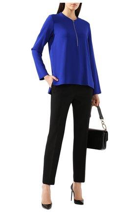 Женская блузка из вискозы STELLA MCCARTNEY синего цвета, арт. 341360/SCA06 | Фото 2