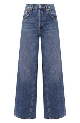 Женские джинсы GANNI синего цвета, арт. F3630 | Фото 1
