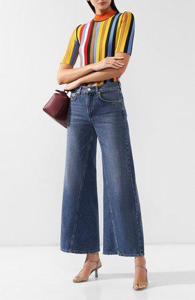 Женские джинсы GANNI синего цвета, арт. F3630 | Фото 2