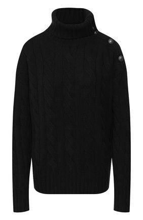 Женский свитер из смеси шерсти и кашемира POLO RALPH LAUREN серого цвета, арт. 211764887   Фото 1