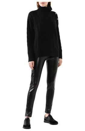 Женский свитер из смеси шерсти и кашемира POLO RALPH LAUREN серого цвета, арт. 211764887   Фото 2