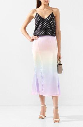 Женская шелковая юбка OLIVIA RUBIN разноцветного цвета, арт. 0R0077/HANNA SLIP SKIRT | Фото 2