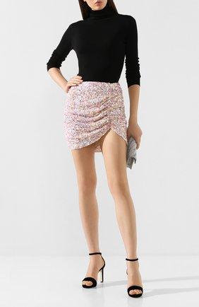 Женская юбка с пайетками RETROFÊTE разноцветного цвета, арт. PF19-2172 | Фото 2